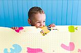 """Детский термо коврик складной развивающий """"Подводный мир + Сафари"""" 200х180 см +сумка-чехол, фото 7"""