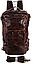 Рюкзак трансформер 2 в 1 кожаный Vintage 20207 Коричневый, фото 2
