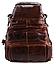 Рюкзак трансформер 2 в 1 кожаный Vintage 20207 Коричневый, фото 5