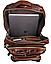 Рюкзак трансформер 2 в 1 кожаный Vintage 20207 Коричневый, фото 8