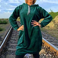 Женская туника из эко-меха, фото 1
