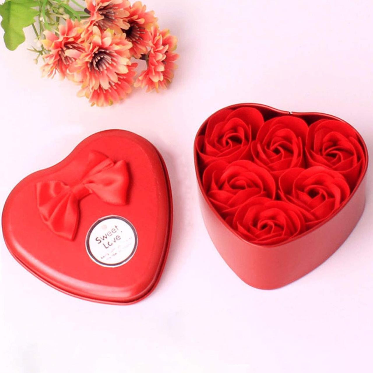 Подарочный набор - розы из мыла любимой, сувенирное ароматизированное мыло в виде роз с доставкой
