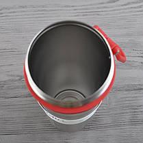 Термобутылка Aladdin Active Hydration (0.6л), красная нержавеющая сталь 18/8|тритан, фото 3