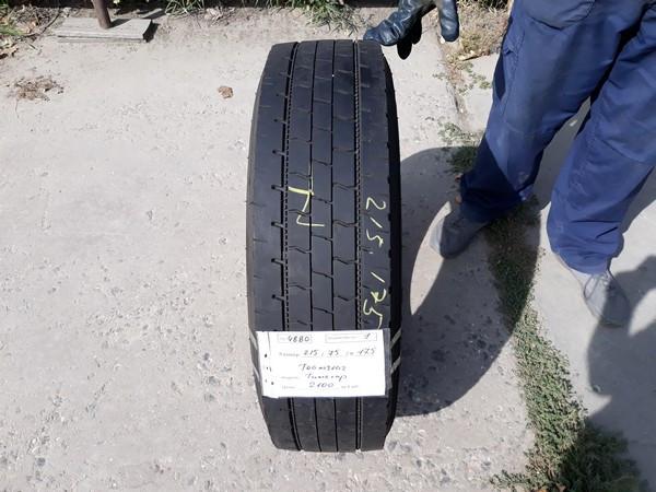 Шины б.у. 215.75.r17.5 Teamstar TH Drive Тимстар. Резина бу для грузовиков и автобусов