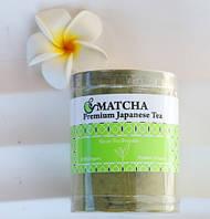 Японский чай Матча Premium Japanse Tea Powder в тубе, 200 гр