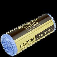 """Пакет для мусора """"PETROVKA HoReCa"""" 35л*30шт 6мкм"""