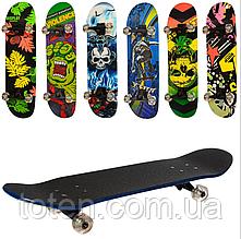 Скейтборд деревянный Profi MS 0355-4 Колеса ПУ  79 х 20 см