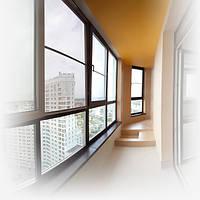 Скління, оздоблення балконів та лоджій