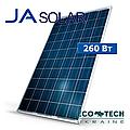 Солнечные панели (фотомодули, батареи) Ja Solar  JAP6-60 260 W poly поликристалические TIER 1