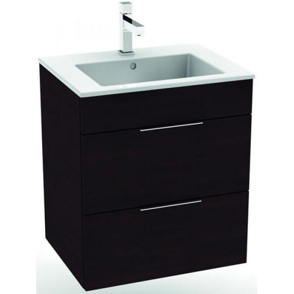 Тумбы для ванной Jika Тумба с раковиной JIKA Cube 55 см H4536121763021