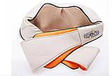 Роликовий масажер для шиї і плечей з ІЧ-прогріванням Massager of Neck Kneading, фото 8
