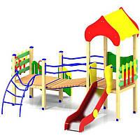 Игровой комплекс Малыш на площадку во двор для детей в детский сад