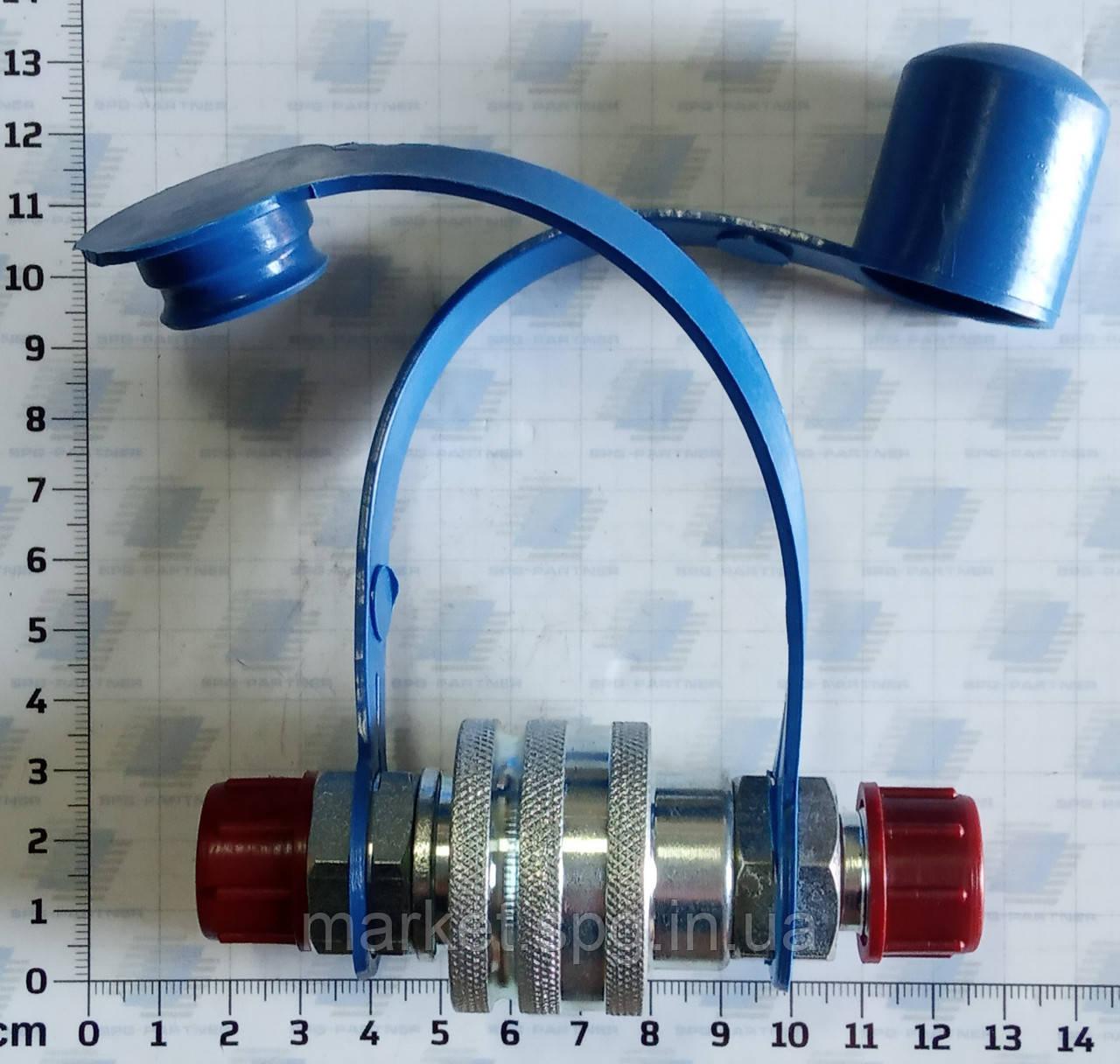 Швидкороз'ультрамалооб'ємне з'єднання єднання DN12 AGM 18x1,5 (комплект)