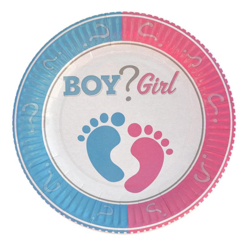 Тарелки BOY ? GIRL18см