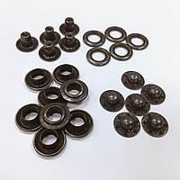 Кнопка кольцевая цв оксид 15мм (уп 72шт) МН