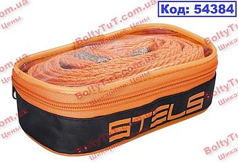Трос буксирний 12 тонн, 2 петлі, сумка на блискавці STELS (54384)