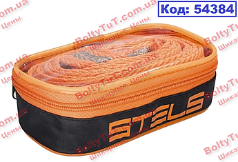 Трос буксировочный 12 тонн, 2 петли, сумка на молнии STELS (54384)
