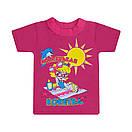 Дитяча футболка для дівчинки з принтом Маленька кокетка кулір, фото 4