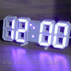 Часы настольные LY 1089 Синие, фото 3