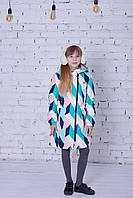 Демисезонное пальто для девочки Joiks avg-141, размер 140