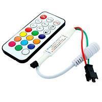 RGB контроллер Biom OEM SPI-IR21 IR 5-24V (21 кнопка) для Smart ленты 12216, фото 1