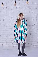Демисезонное пальто для девочки Joiks avg-141, размер 128
