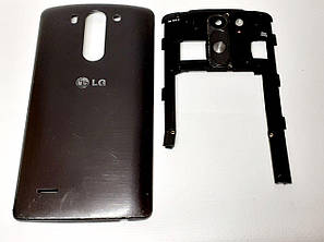 Корпус с кнопками вкючения и громкости  серый  LG D724 / D722  G3s оригинал б.у., фото 2