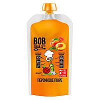 "Персиковое пюре без сахара ""Bob Snail"" 400 г"