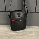 Комплект сумка Puma черная + барсетка Puma, фото 2