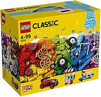 Конструктор LEGO Classic Кубики и колеса 10715 | коробка лего классический на 442 детали