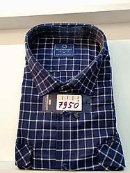 Теплая кашемировая батальная рубашка Brossard - 7950