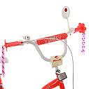 Велосипед детский PROF1 20. SY20195 Angel Wings коралловый, фото 3