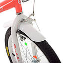 Велосипед детский PROF1 20. SY20195 Angel Wings коралловый, фото 4