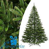 Литая искусственная елка АЛЬПИЙСКАЯ зелёная 230 см, фото 1