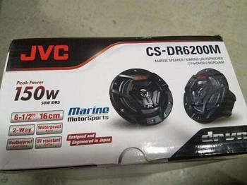 """Динамики JVC CS-DR6200M Marine Speaker 6.5"""" 2-Way Black"""