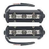 Светодиодные лэд фары комплект. LED фары по 3 диода, усиленный качественный корпус. LED фара E\5W. F, фото 3