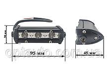 Светодиодные лэд фары комплект. LED фары по 3 диода, усиленный качественный корпус. LED фара E\5W. F