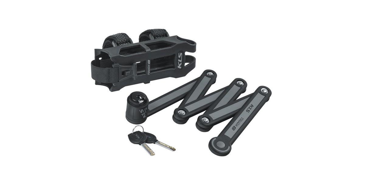 Велозамок KLS Tough30 folding сегментний складний