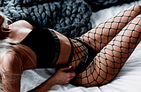 Женские колготки в сеточку сексуальное белье эротическое белье, фото 4