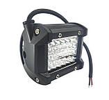Четырехрядная мощная LED (лэд) фара - прожектор на 24 диода. H - 72W / S. Пр-во Корея, фото 2