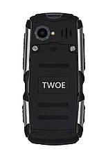 Мобильный телефон 2E R240 Dual Sim Black (Черный), фото 3