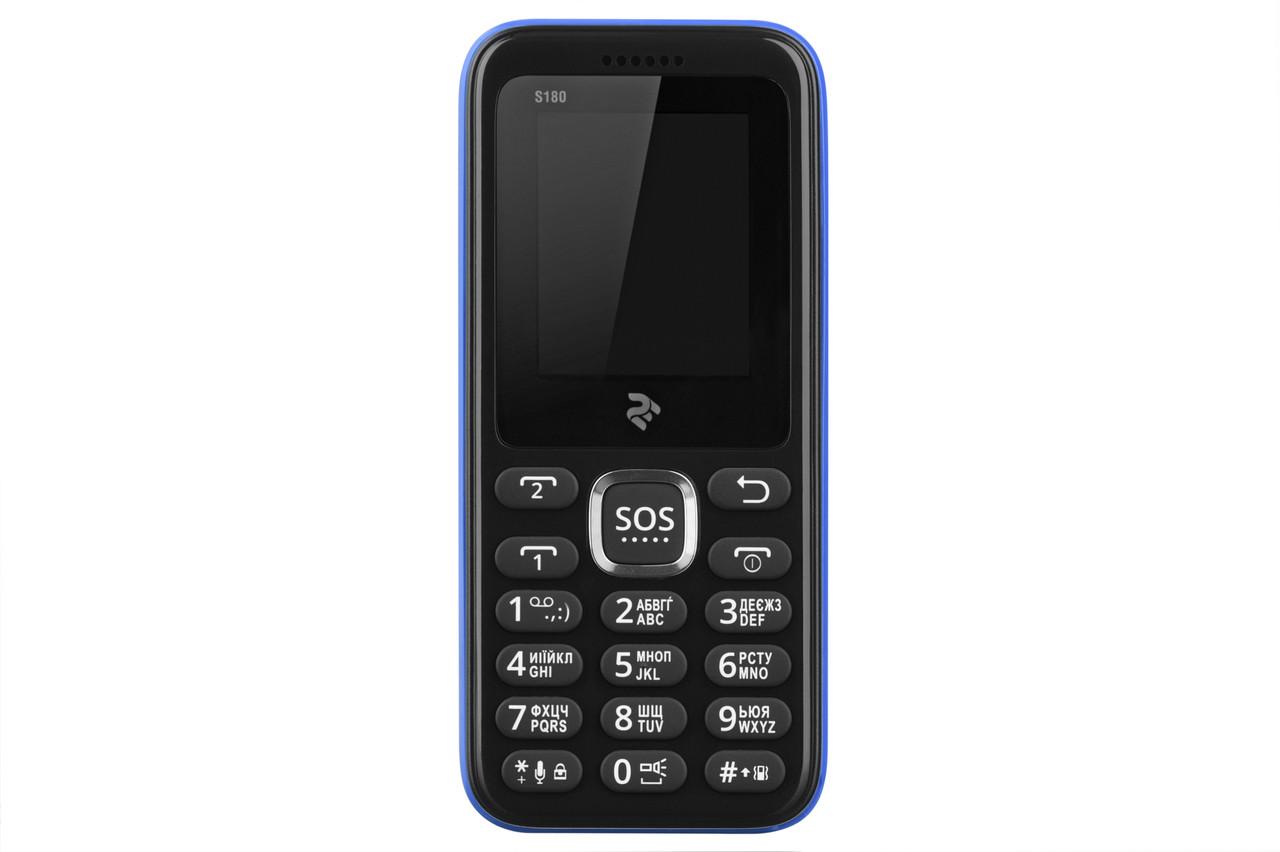 Мобільний телефон 2E S180 DUALSIM Blue (Синій)
