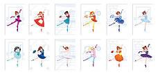 Набор для творчества Janod Модное наряд Балерины (J07839), фото 2