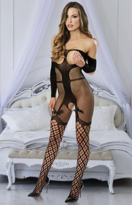Сексуальний комбінезон сексуальный комбинезон боди сетка в упаковке эротическое белье