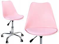 Крісло комп'ютерне дитяче для дівчини Elmo Рожеве