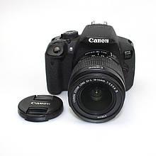 Зеркальный фотоаппарат Canon EOS 700D Kit 18-55mm F/3.5-5.6 iii б/у