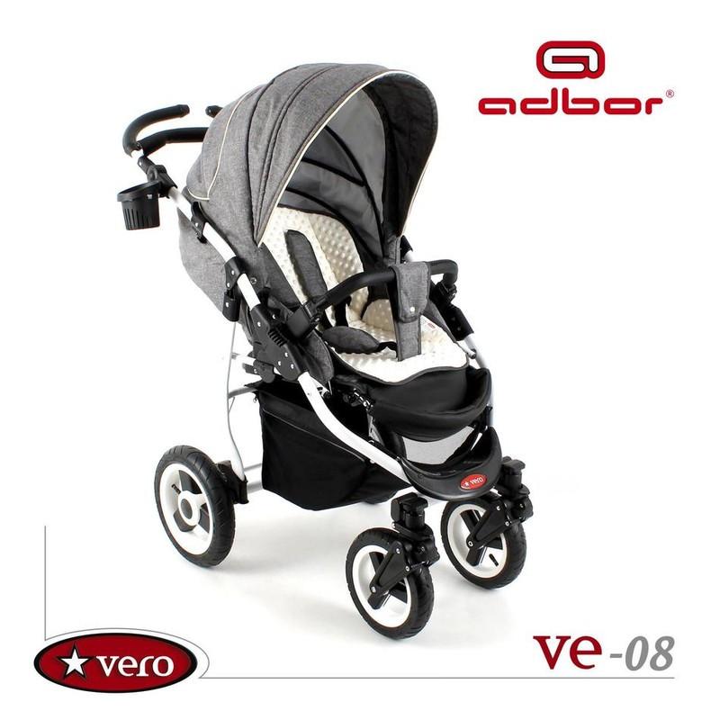 Дитяча прогулянкова коляска Adbor Vero VE-08