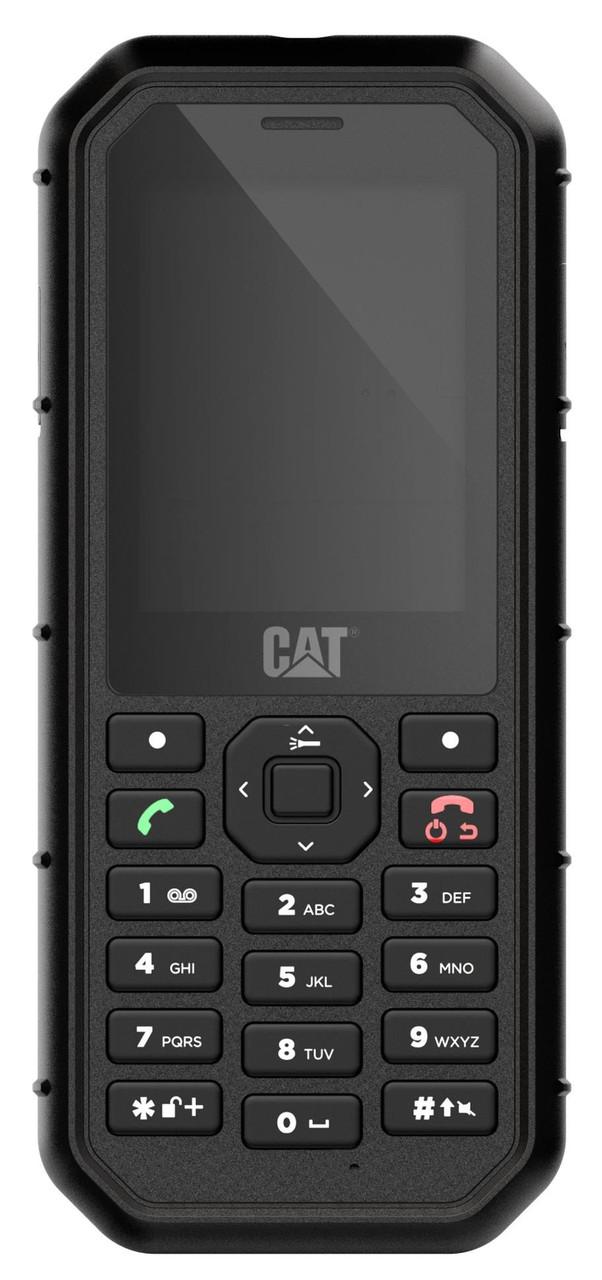 Мобільнийй телефон CAT B26 Dual SIM Black (Чорний)