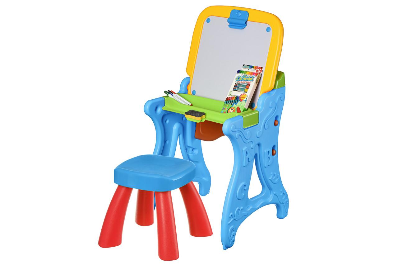 Столик-мольберт Same Toy Блакитний (8815Ut)