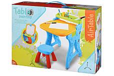 Столик-мольберт Same Toy Блакитний (8815Ut), фото 3